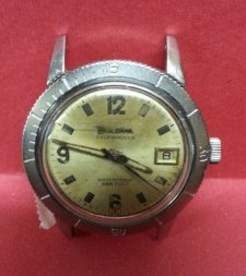 Vintage Bulova Before Restoration