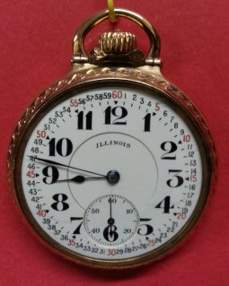 16 Size Illinois Bunn Special Railroad Watch