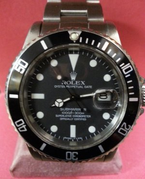 Men's Rolex GMT After Restoration