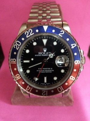 Rolex GMT-Master II  After Restoration