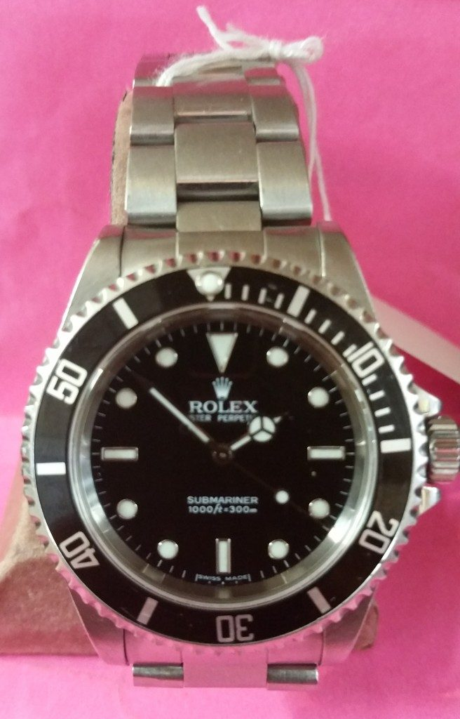 Jeff Chandler's Rolex Submariner